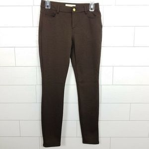 Michael Kors Pants & Jumpsuits - Michael Kors Pants 4 Brown Skinny Ponte Stretch